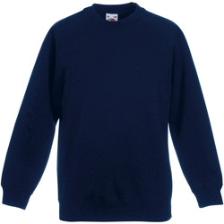 Textiel Kinderen Sweaters / Sweatshirts Fruit Of The Loom 62039 Donker Marine