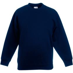 Textiel Kinderen Sweaters / Sweatshirts Fruit Of The Loom 62031 Donker Marine