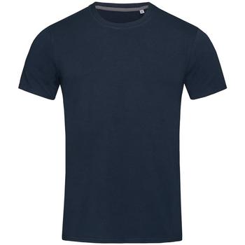 Textiel Heren T-shirts korte mouwen Stedman Stars  Jachthaven Blauw