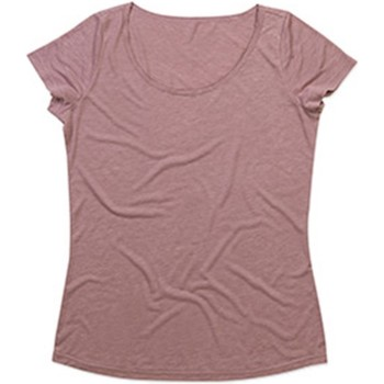 Textiel Dames T-shirts korte mouwen Stedman Stars  Vintage Roos