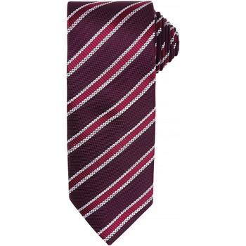 Textiel Heren Stropdassen en accessoires Premier PR783 Bourgogne/ Aubergine