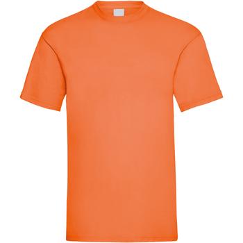 Textiel Heren T-shirts korte mouwen Universal Textiles 61036 Helder oranje