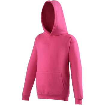 Textiel Kinderen Sweaters / Sweatshirts Awdis JH01J Heet Roze