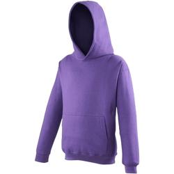 Textiel Kinderen Sweaters / Sweatshirts Awdis JH01J Paars