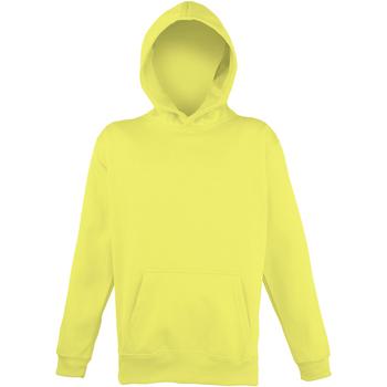 Textiel Kinderen Sweaters / Sweatshirts Awdis JH04J Elektrisch Geel