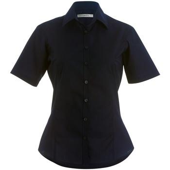 Textiel Dames Overhemden Kustom Kit K742F Donkere marine