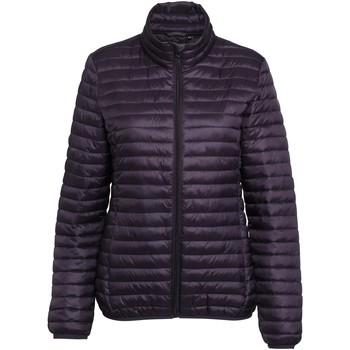Textiel Dames Dons gevoerde jassen 2786 TS18F Aubergine