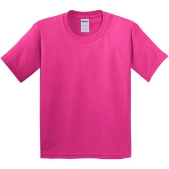 Textiel Kinderen T-shirts korte mouwen Gildan 5000B Heliconia