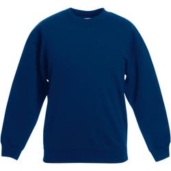 Textiel Kinderen Sweaters / Sweatshirts Fruit Of The Loom Classic Marine