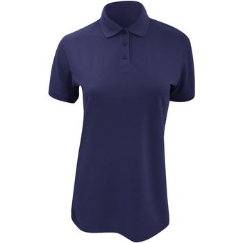 Textiel Dames Polo's korte mouwen Kustom Kit Klassic Marineblauw