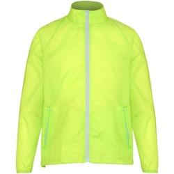 Textiel Heren Windjack 2786 TS011 Geel/wit