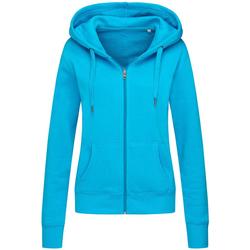 Textiel Dames Sweaters / Sweatshirts Stedman  Blauw