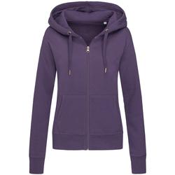 Textiel Dames Sweaters / Sweatshirts Stedman  Paars