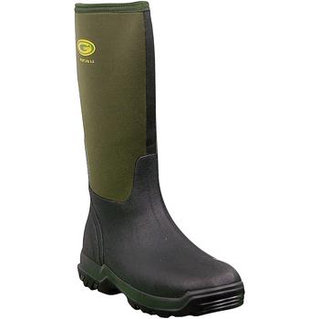 Schoenen Dames Regenlaarzen Grubs Boots  Mosgroen