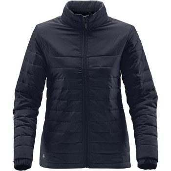 Textiel Dames Dons gevoerde jassen Stormtech QX-1W Marineblauw