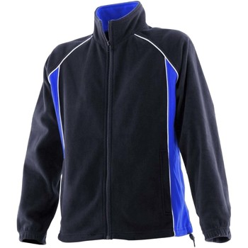 Textiel Dames Trainings jassen Finden & Hales LV551 Marine / Loyaal / Wit