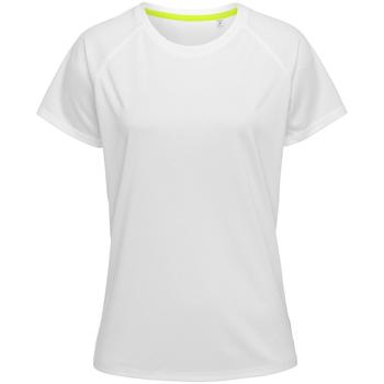 Textiel Heren T-shirts korte mouwen Stedman  Wit