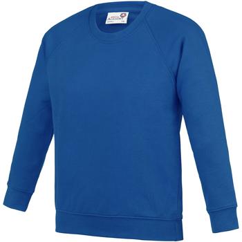 Textiel Kinderen Sweaters / Sweatshirts Awdis  Koningsblauw