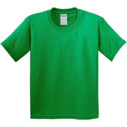 Textiel Kinderen T-shirts korte mouwen Gildan 64000B Iers Groen