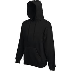 Textiel Heren Sweaters / Sweatshirts Fruit Of The Loom 62152 Zwart