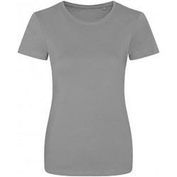 Textiel Dames T-shirts korte mouwen Ecologie EA01F Heide