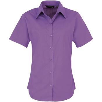 Textiel Dames Overhemden Premier PR302 Rijke Violet