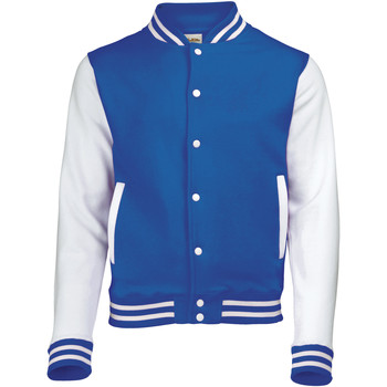 Textiel Heren Wind jackets Awdis JH043 Koningsblauw / Wit
