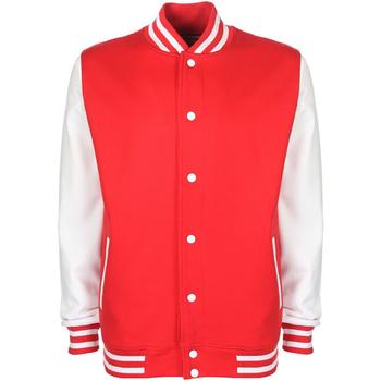 Textiel Heren Wind jackets Fdm FV001 Brand rood/wit