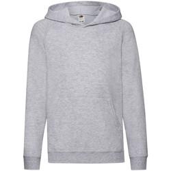 Textiel Kinderen Sweaters / Sweatshirts Fruit Of The Loom 62009 Heather Grijs
