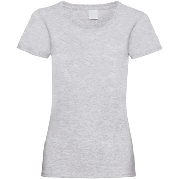 Textiel Dames T-shirts korte mouwen Universal Textiles 61372 Grijze Mergel
