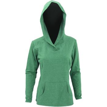 Textiel Dames Sweaters / Sweatshirts Anvil 72500L Heide Groen