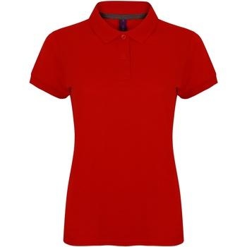 Textiel Dames Polo's korte mouwen Henbury HB102 Klassiek rood