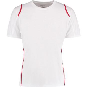 Textiel Heren T-shirts korte mouwen Gamegear Cooltex Wit/rood