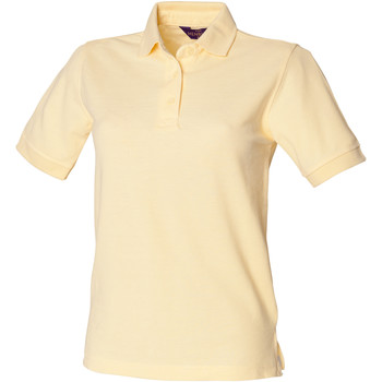 Textiel Dames Polo's korte mouwen Henbury HB401 Citroen