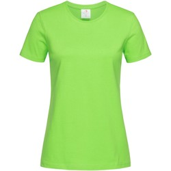 Textiel Dames T-shirts korte mouwen Stedman  Lichtgroen