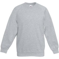 Textiel Kinderen Sweaters / Sweatshirts Fruit Of The Loom 62039 Heather Grijs