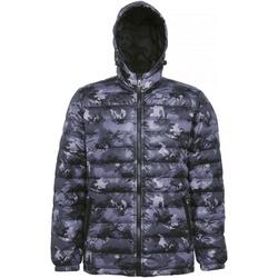 Textiel Heren Dons gevoerde jassen 2786 TS016 Camo Grijs