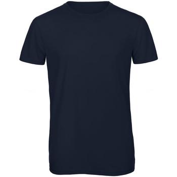 Textiel Heren T-shirts korte mouwen B And C TM055 Marineblauw