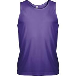 Textiel Heren Mouwloze tops Kariban Proact PA441 Violet