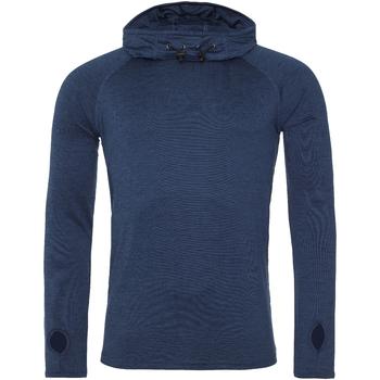 Textiel Heren T-shirts met lange mouwen Awdis  Marinemelange