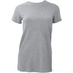 Textiel Dames T-shirts korte mouwen Bella + Canvas BE6004 Atletische Heide