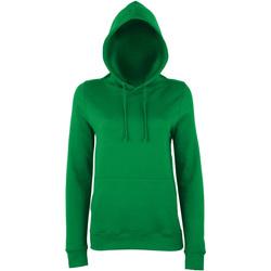 Textiel Dames Sweaters / Sweatshirts Awdis Girlie Kelly Groen