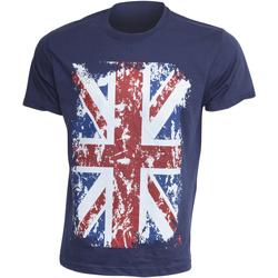 Textiel Heren T-shirts korte mouwen Gb Eye Limited  Marine