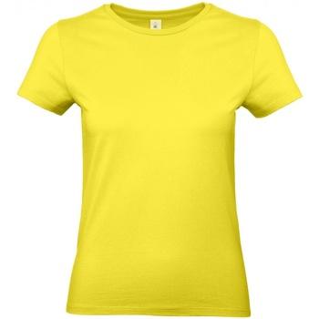 Textiel Dames T-shirts korte mouwen B And C E190 Zonne-Geel