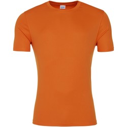 Textiel Heren T-shirts korte mouwen Awdis JC020 Sinaasappelschilfers