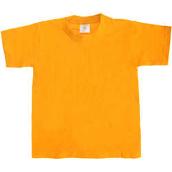 Textiel Kinderen T-shirts korte mouwen B And C Exact 190 Goud