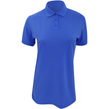 Textiel Dames Polo's korte mouwen Kustom Kit Klassic Koningsblauw