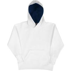 Textiel Kinderen Sweaters / Sweatshirts Sg SG24K Wit/Zwaar
