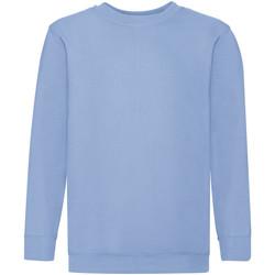 Textiel Kinderen Sweaters / Sweatshirts Fruit Of The Loom 62041 Hemel Blauw
