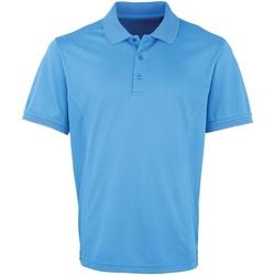 Textiel Heren Polo's korte mouwen Premier PR615 Saffier